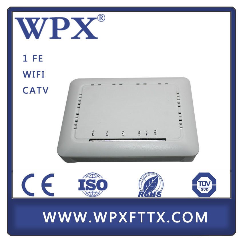 FTTH Modem CPE RF Output 1ge CATV Gepon Ont