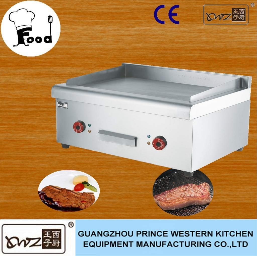 Stainless Steel Commercial Induction Griddle Table Top Electric Griddle for Restaurant