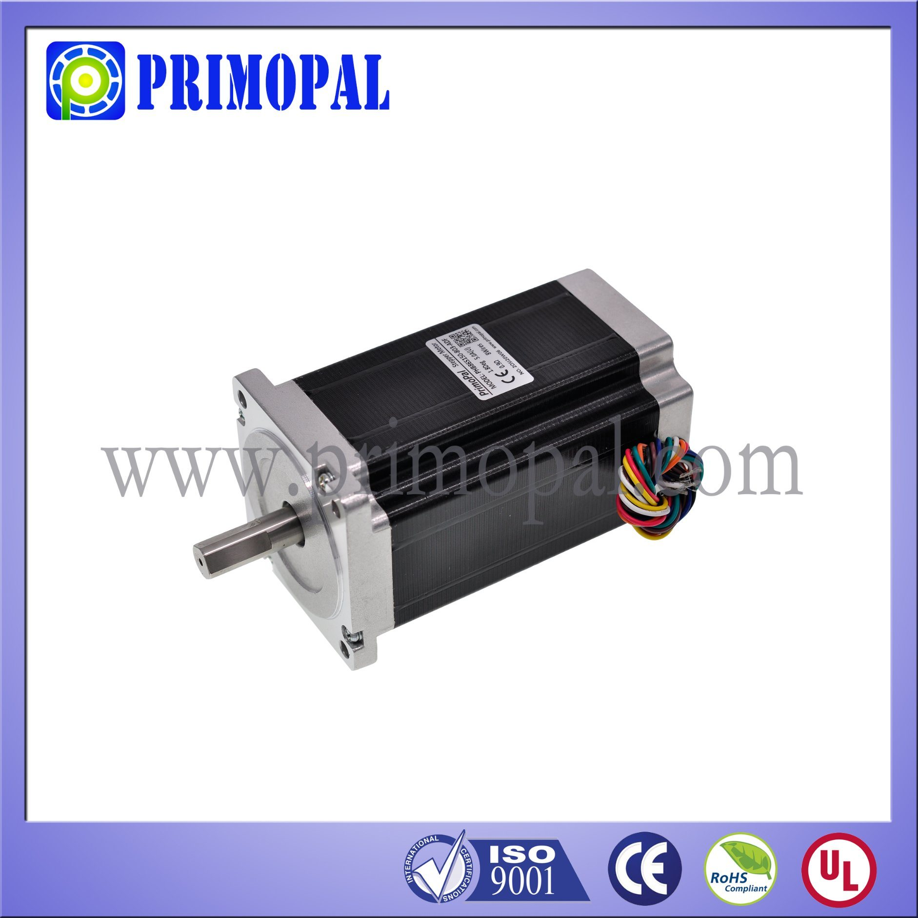 86mm 0.9 Degree NEMA 34 Stepper Motor Top Quality!