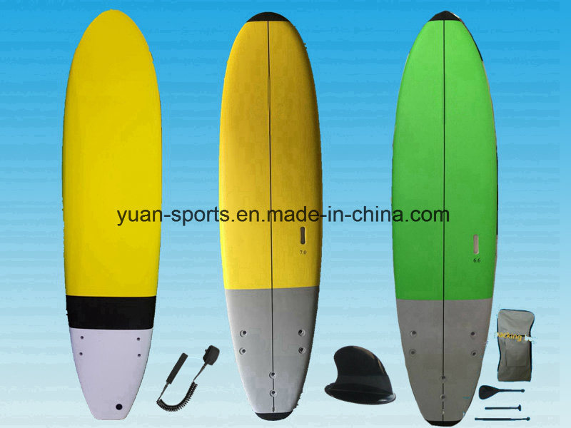 Various Size Soft Stand up Paddle Board Sup with EVA Deck Pad