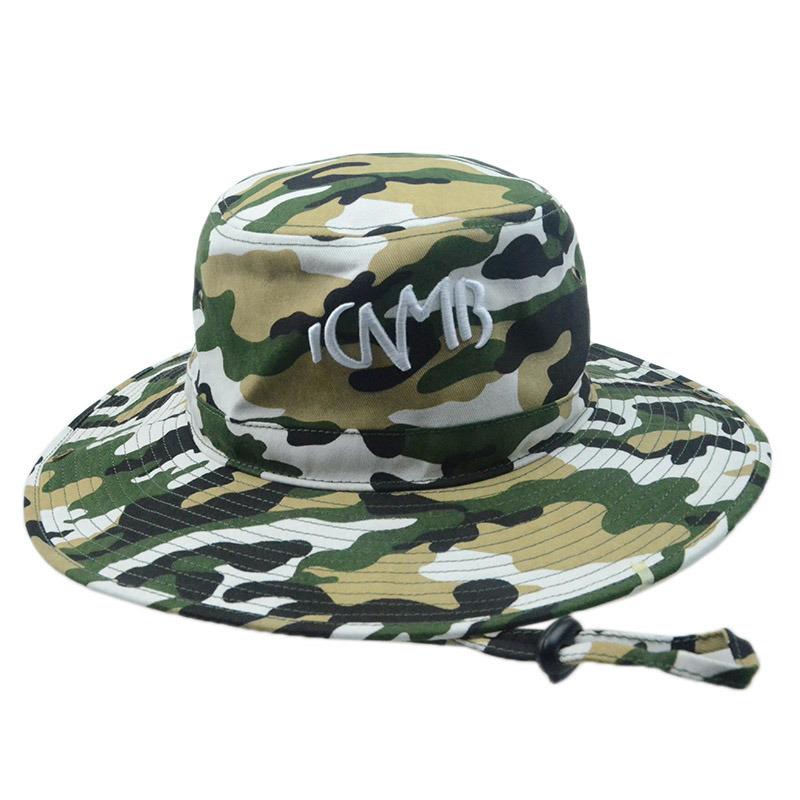 Custon Fashion Outdoor Fishing Bucket Hat Summer Hat