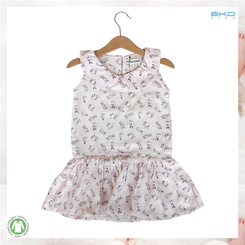 Sort Handfeel Baby Clothes Sleeveless Newborn Dress
