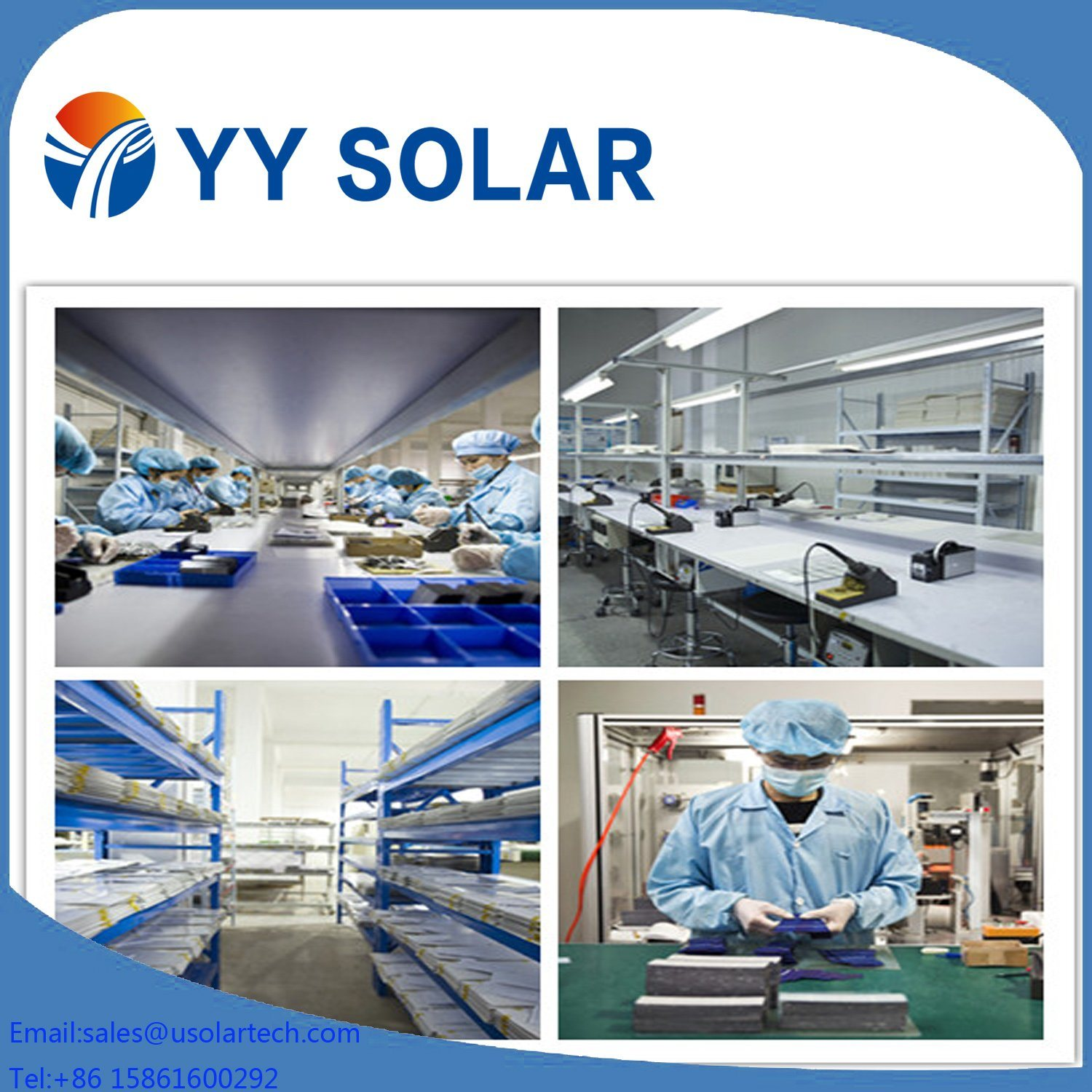 40W High Quality Renewable Solar Panel for Sale
