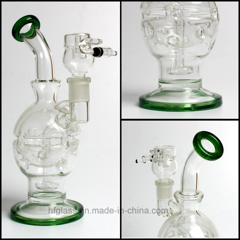 Manufacturer Smoking Water Pipe Mothership Glass Fab Egg Faberge Recycler DAB Rig