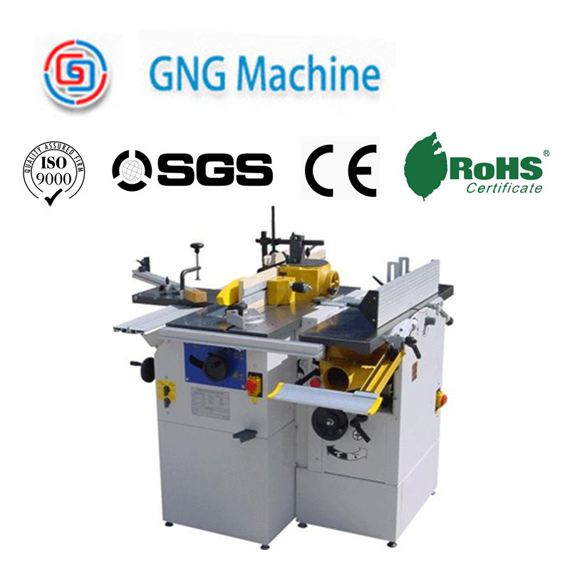 High Precision Combination Woodworking Planer Machine