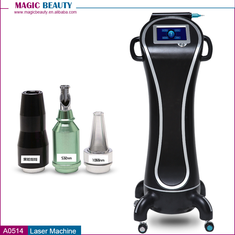 A0514 ND YAG Carbon Laser Peel Tattoo Removal Machine