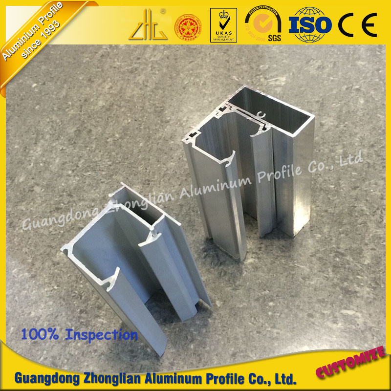 OEM Customized Aluminium Profile Guide Rail for Furniture or Decoration