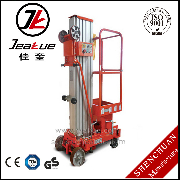 Portable Aluminium Aerial Work Platform with 8.5m Working Height
