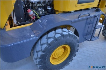 Eougem 1 Ton Zl10 Cheapest Wheel Loader Payloader Made in China