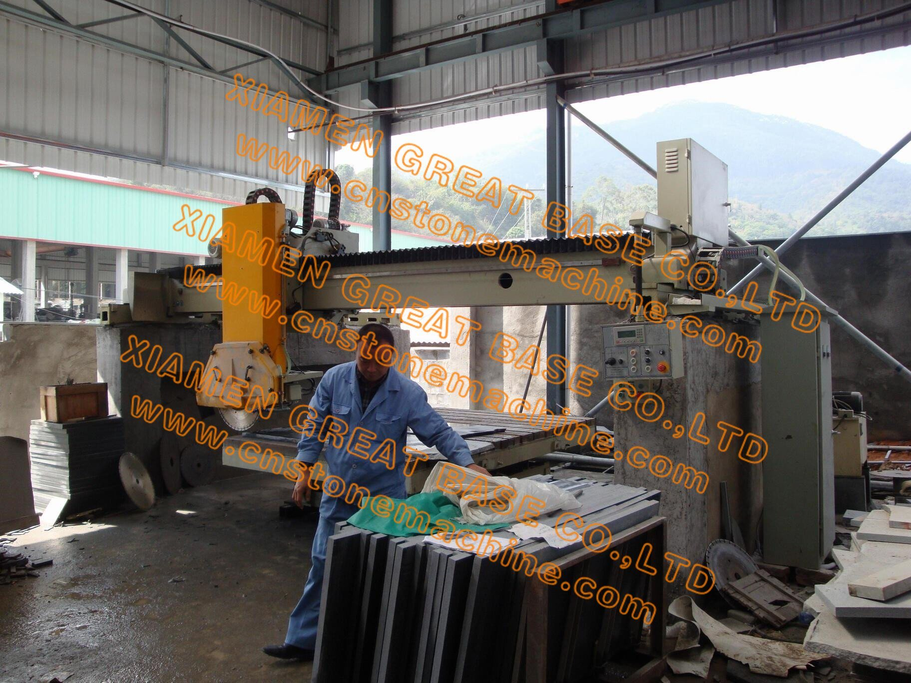 GBHW-800 Fully Automatic Edge Cutting Machine