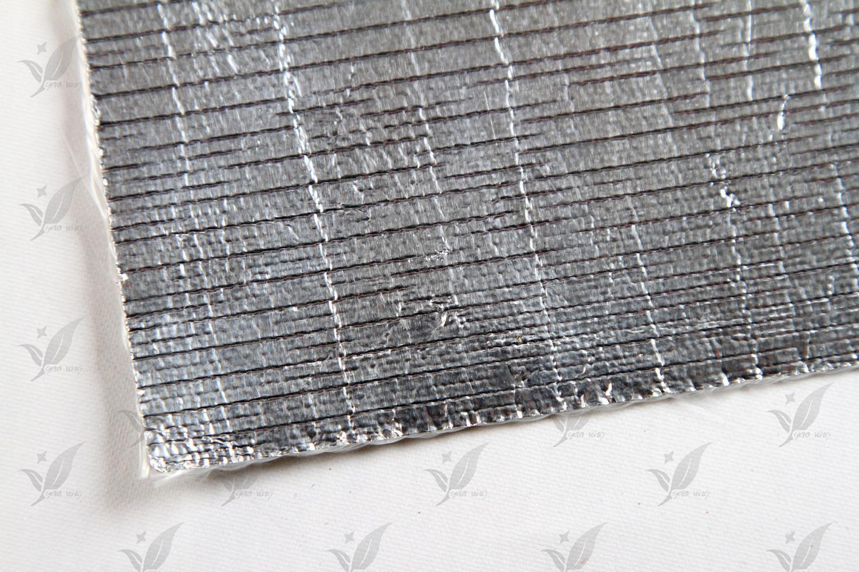 Aluminum Coated Fiberglass Fabric
