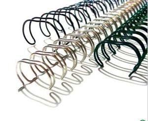 Double Loop Loose-Leaf Binding Wire
