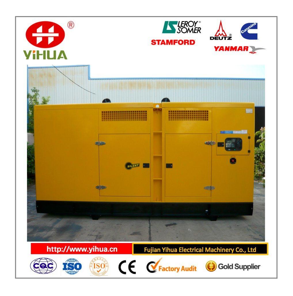 Cummins Dece New Design 200-1500kw Silent Power Generator Set