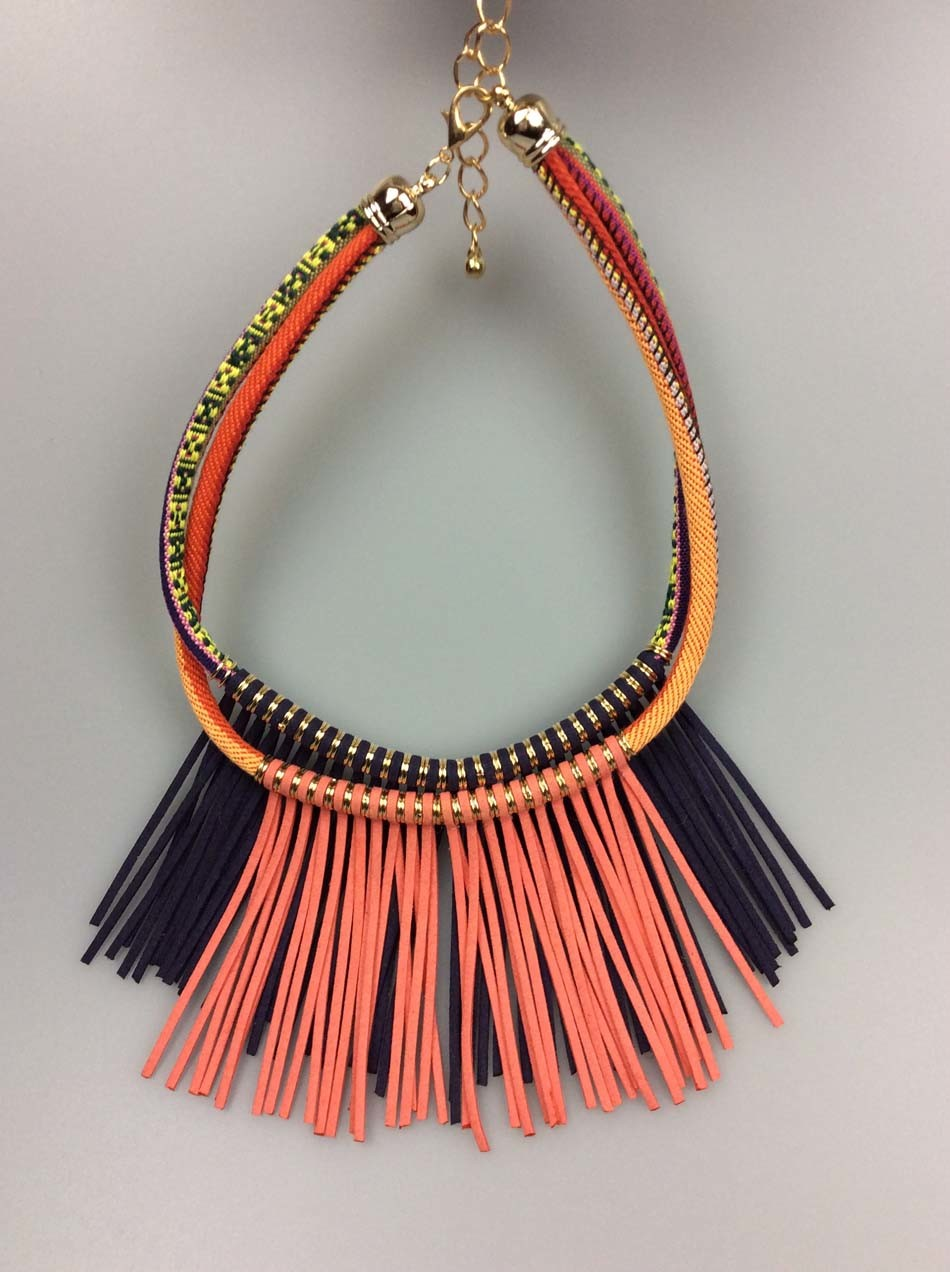 Korean Cord Necklace Fashion Accessory Ladies Imitation jewelry