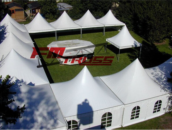 5X5m Party/Wedding Tent, Hot Selling Outdoor Pagoda Party Tent.