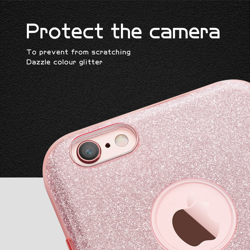 New Arrival! Hot Sale Sparkle Bling Glitter Case for iPhone 7/ 7 Plus
