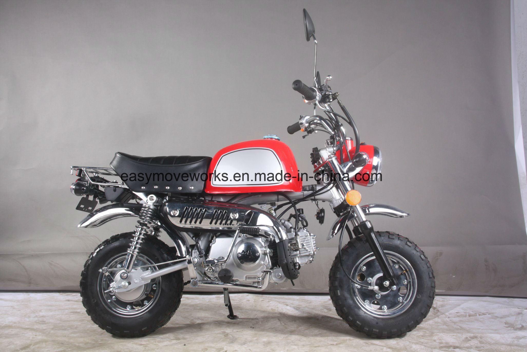 Zhenhua Classic Motorcycle Monkey Bike 125cc Euro4 Big Tank