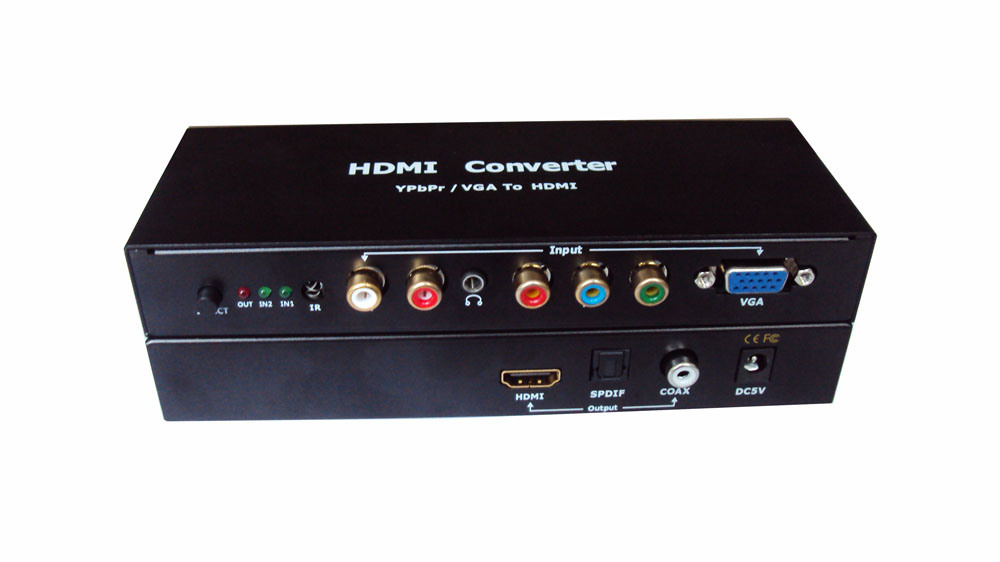 how to use hdmi to vga converter with audio