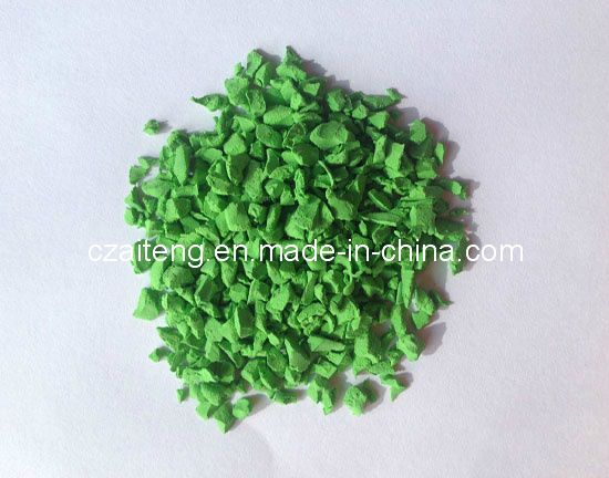 Bright Green EPDM Apple Granule (JTXD-1101)