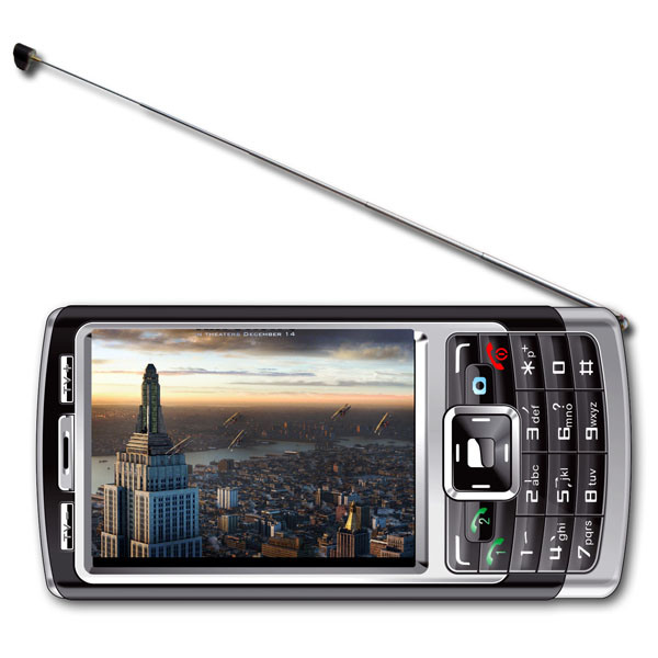 TV Mobile Phone with Dual SIM Card Dual Standby & CE (U826A)