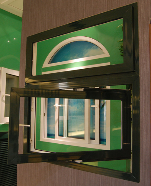 PVC Pivot Window
