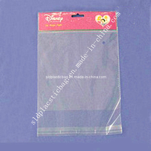 OPP Self Adhesive Bag with Printed Header and Hang Hole