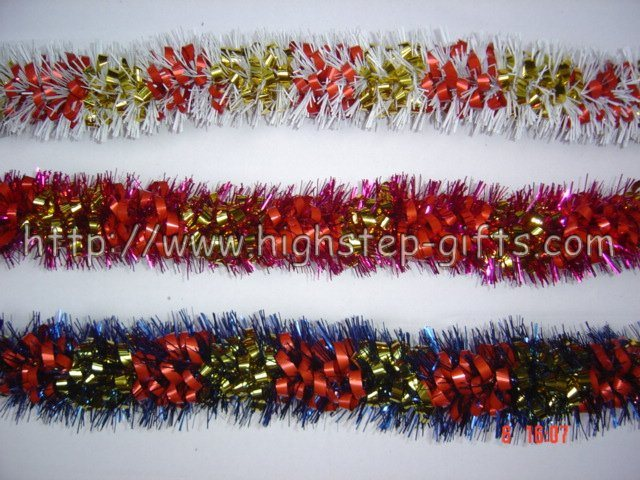 Christmas Tinsel Garland