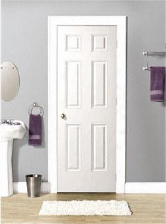 Porte en bois pleine de peinture utilisation int rieure pour la maison et h - Peinture pour porte en bois ...