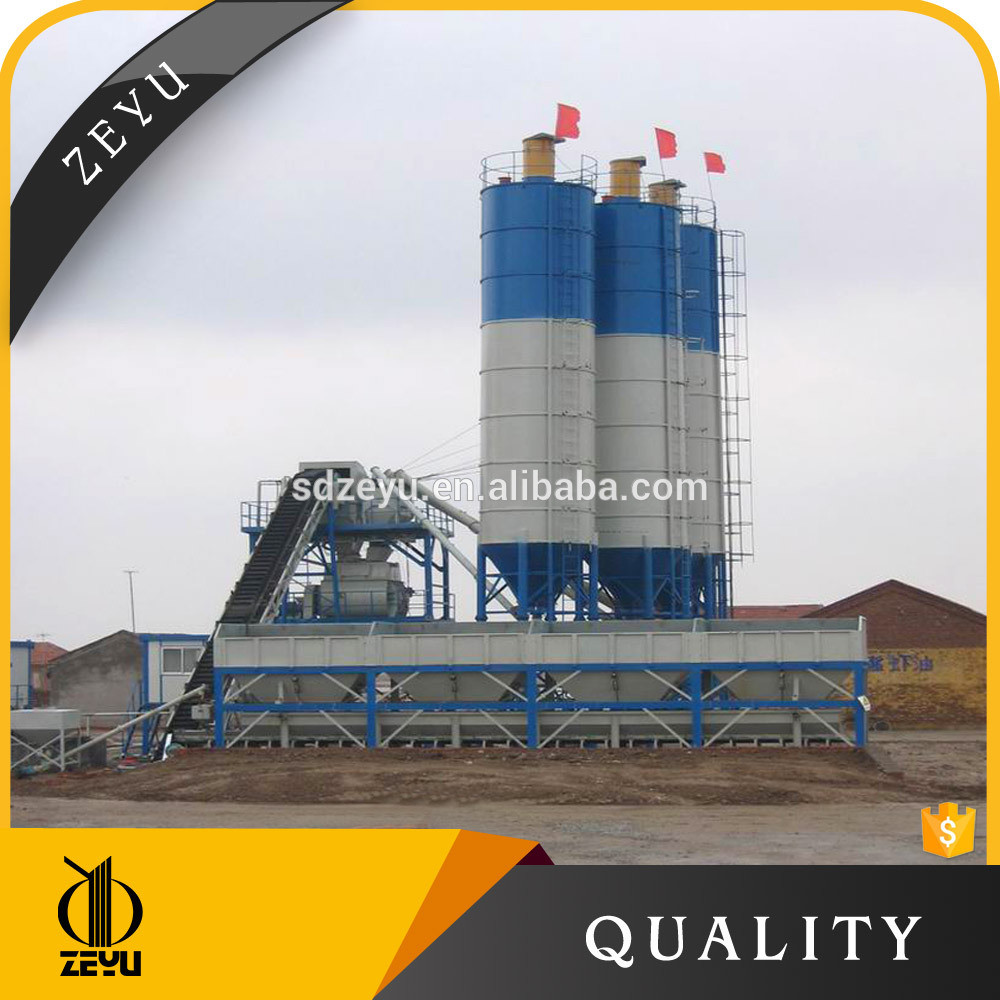 Hls60 Stabilized Concrete Batch Plant Mini Batching Machine Price