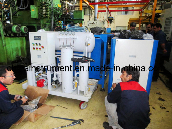 Jt-20 20L/H Coalescing Dehydration and Separation Turbine Oil Purifier