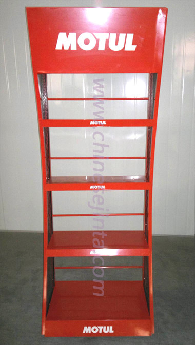 Tools Display Shelf, Display Shelf with Advertisement Board (JT-A21)