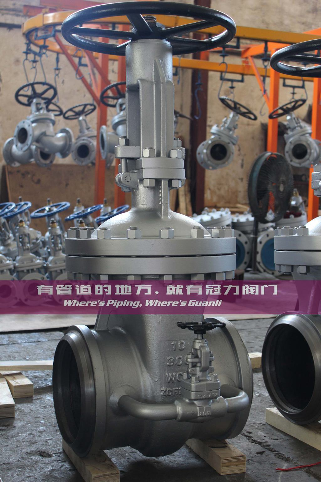 API 600 Wedge Gate Valve OS&Y Class300 Bw Ends