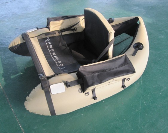 China belly boat china belly boat pontoon float boat for Belly boat fishing