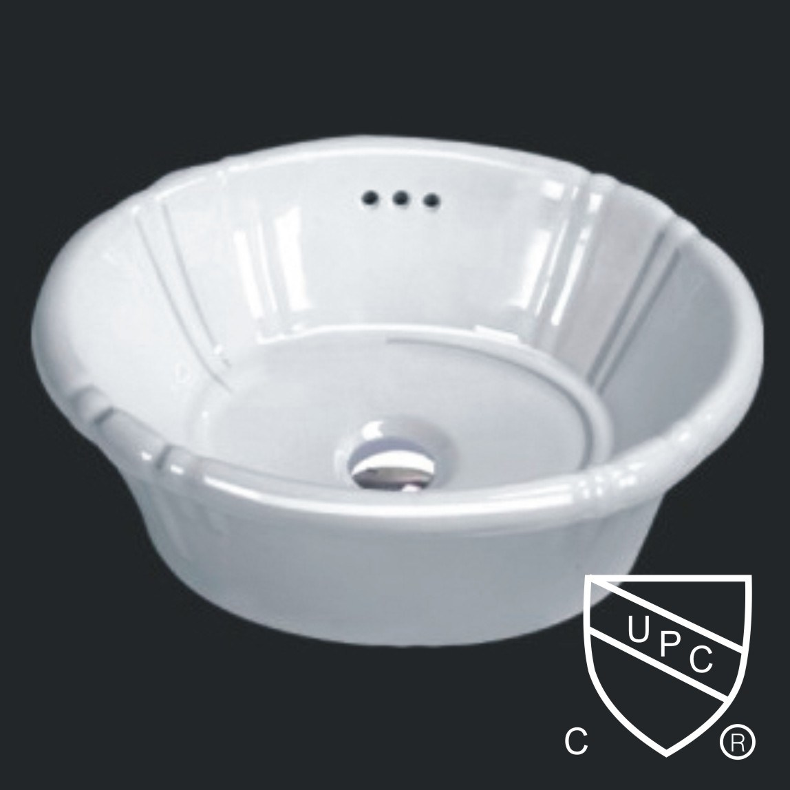 Drop in Basin with upc,changie ceramic sink (1021)