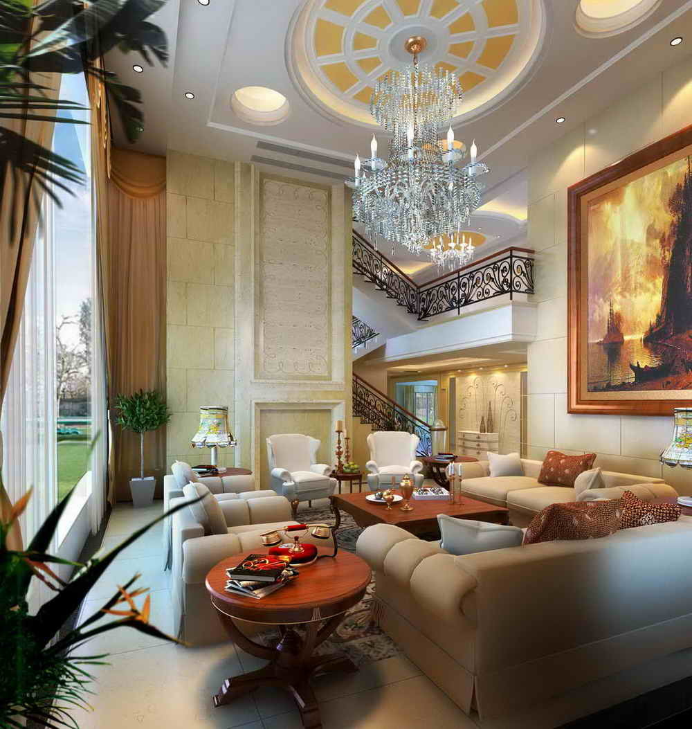 China Villa Interior Design (DS-101)