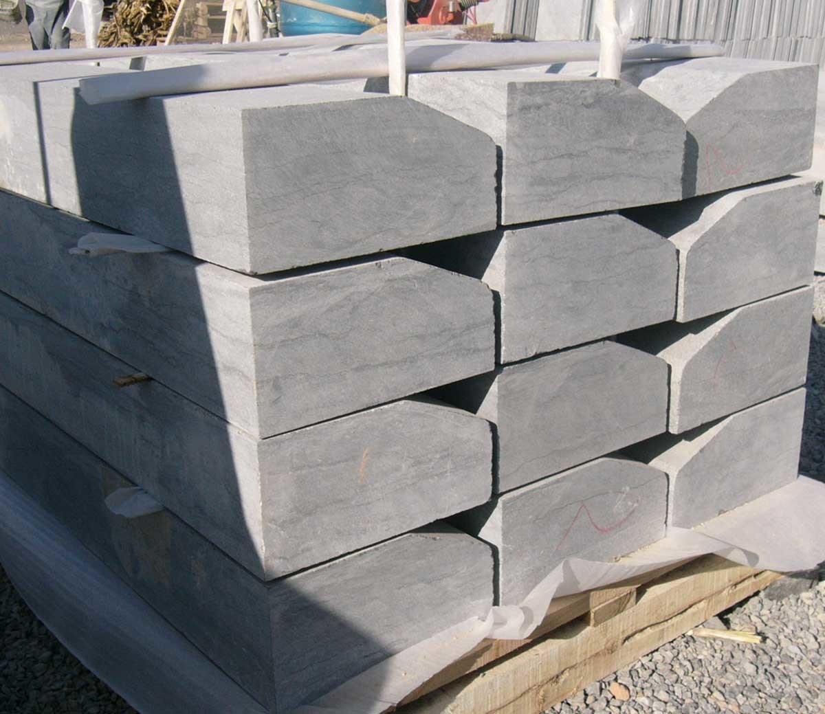 China Blue Stone/Limestone Kerb Slab/Tile Photos