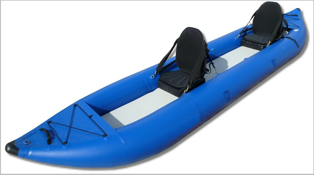 Commercial Grade Inflatable Ocean Kayak