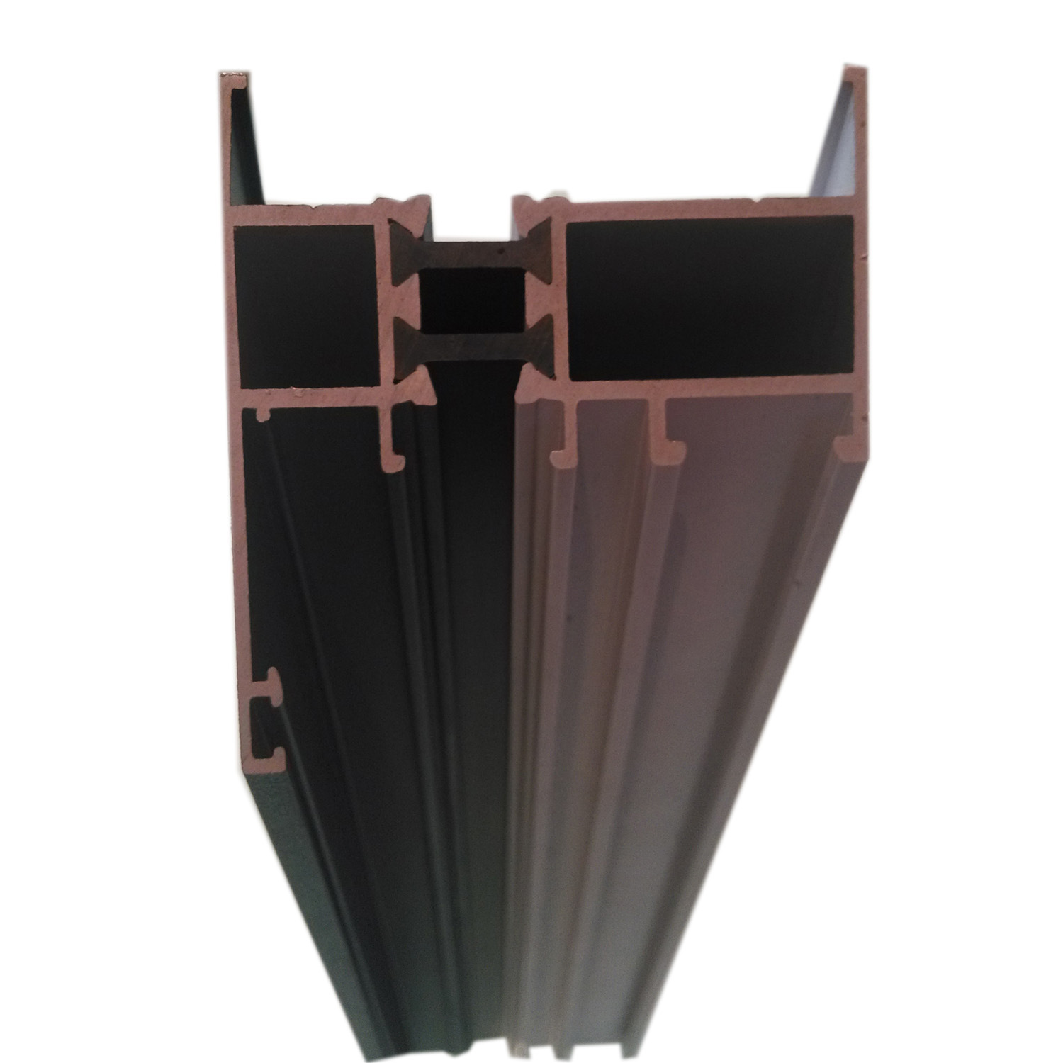 Powder Coating Green 6063 T5 Aluminum Extrusion Profile Aluminium Profile for Windows Doors Industry OEM