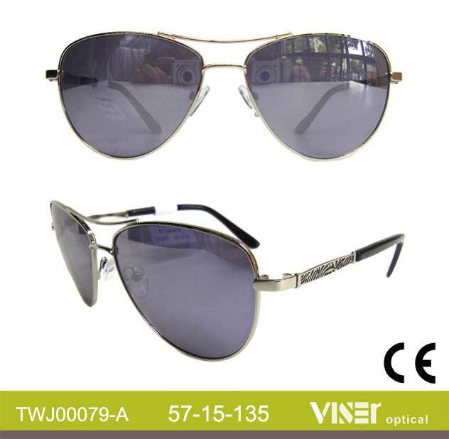 Wholesale Sunglasses Metal Fashion Sunglasses (79-C)