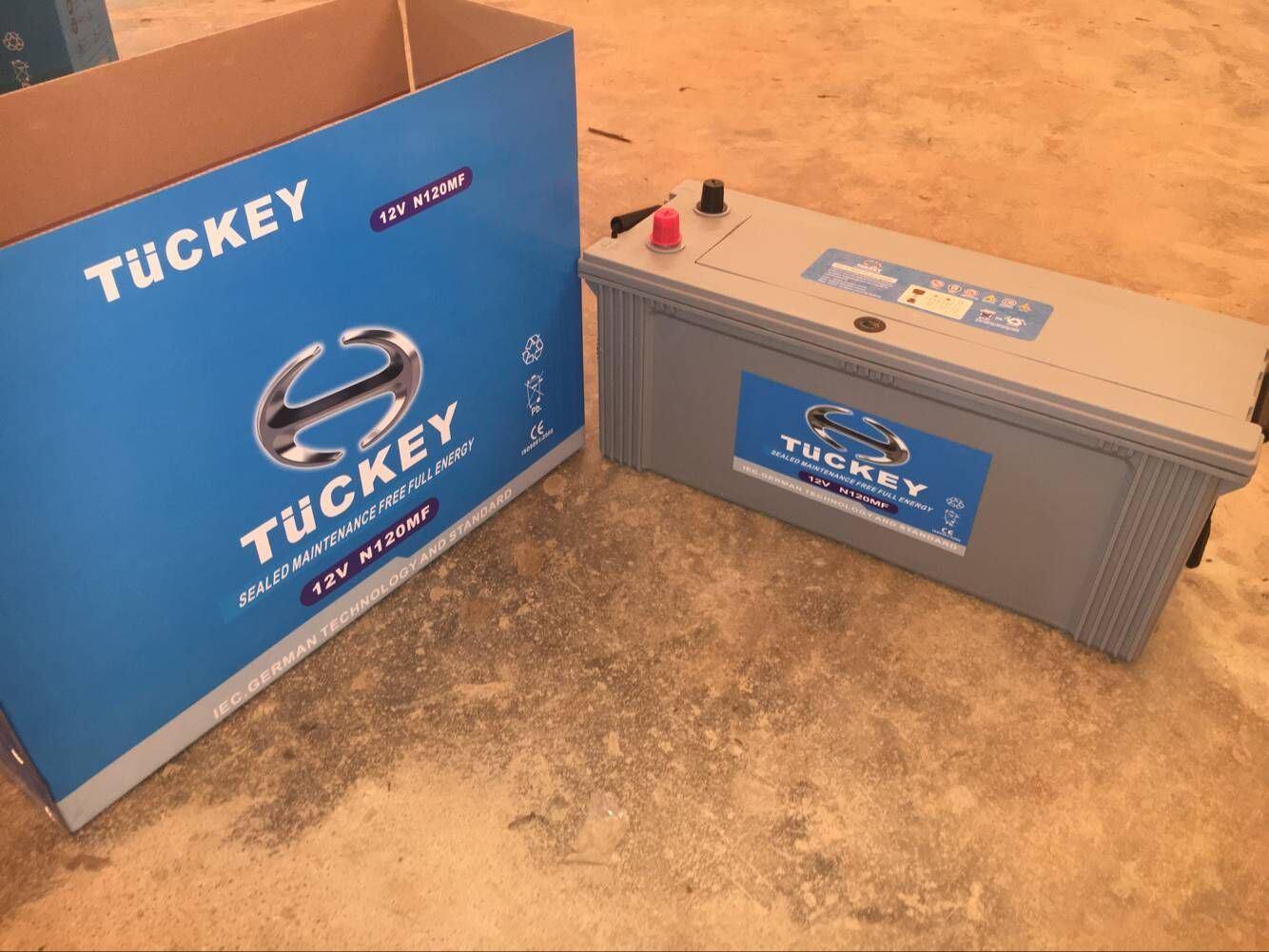 N120mf 12V120ah Maintenance Freelead Acid Car Storage Battery