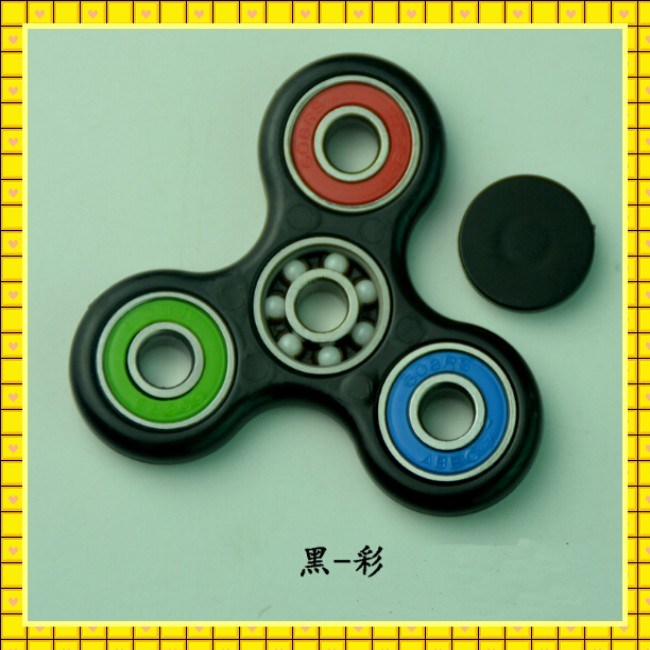 Paypal Accept Durable EDC 608 Bearing Speed Tri Fidget Toy Finger Spinner