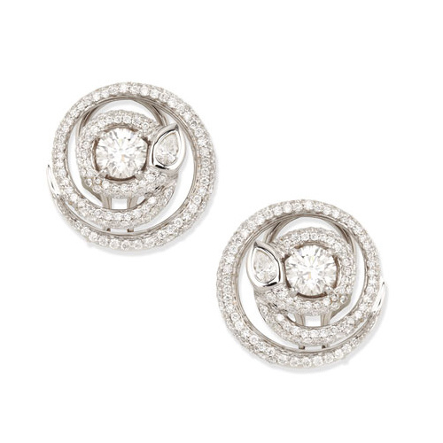 Best Quality 925 Sterling Silver Stud Wedding Earrings Jewellry