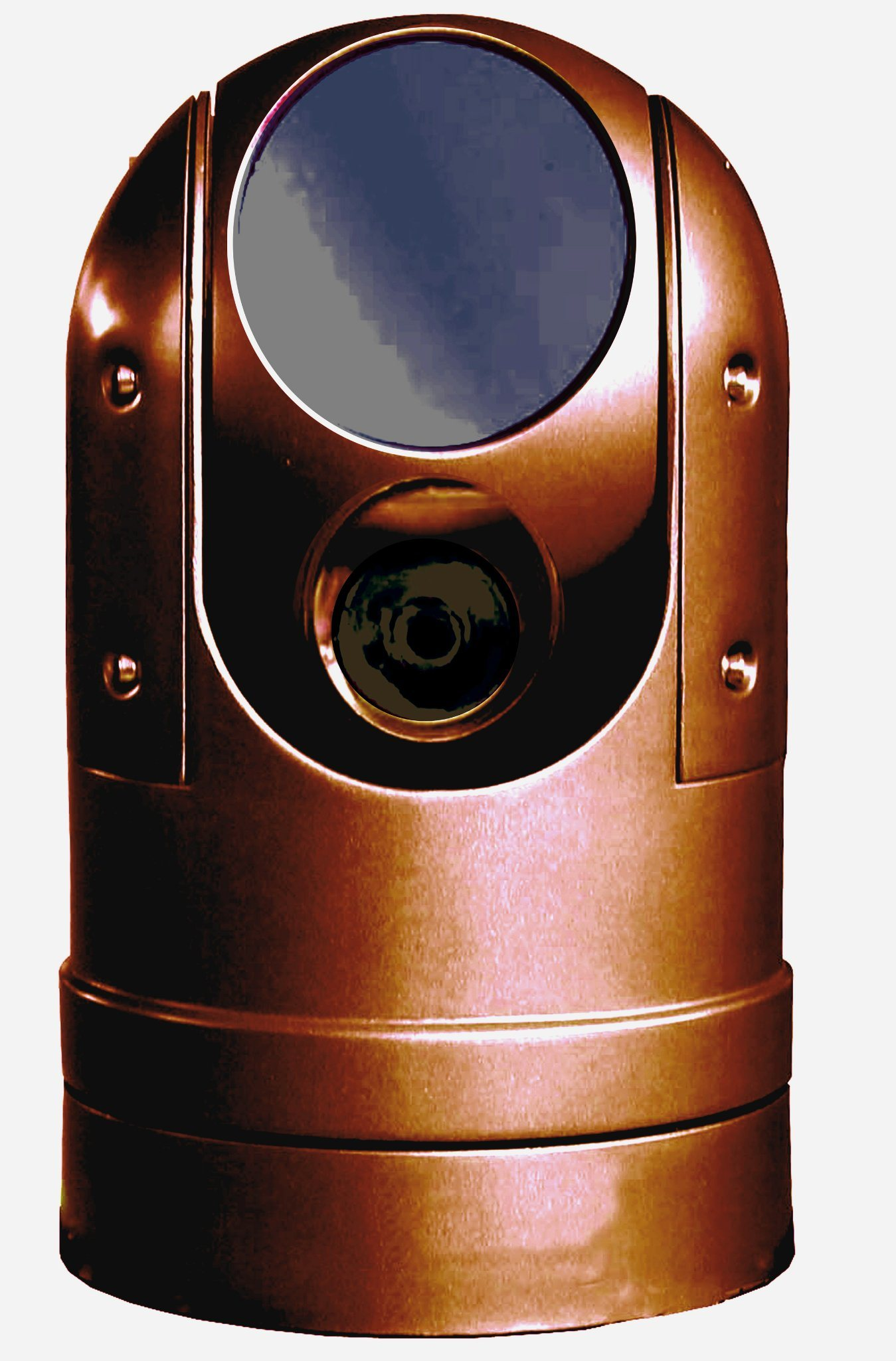 Outdoor Thermal PTZ Camera, with 100mm Upto 3km Detection