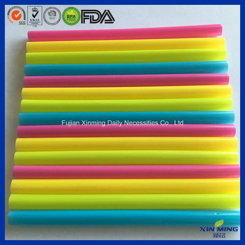 5′′ Super Jumbo Straight Straws, Cocktail Straws W/PVC Box