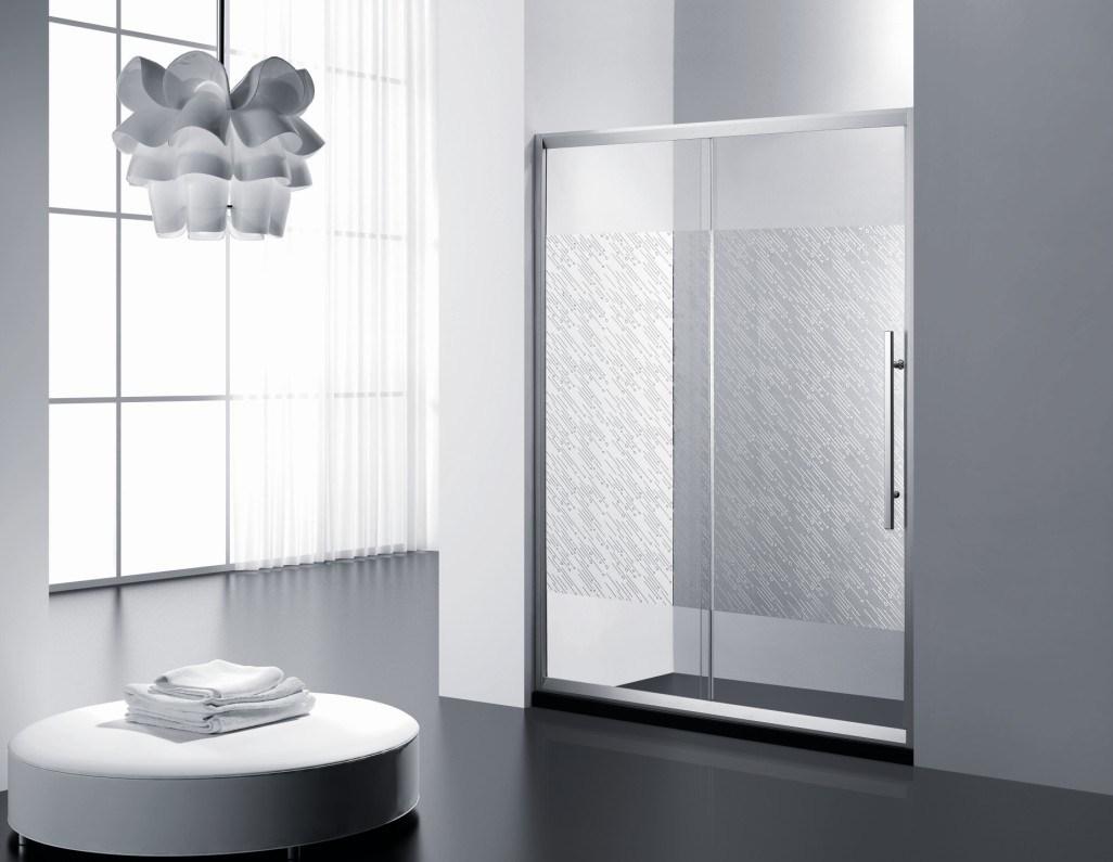 Tempered Glass Simple Shower Door \ Shower Cabin\ Shower Room