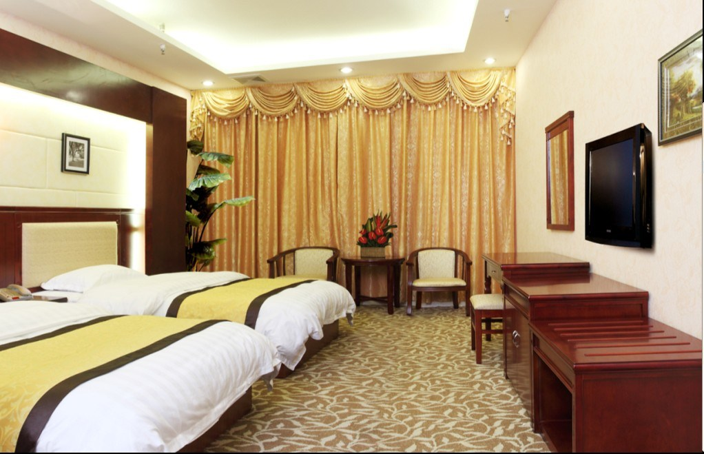 China Hotel Bedroom Furniture Luxury Double Bedroom Furniture Standard Hotel Double Bedroom