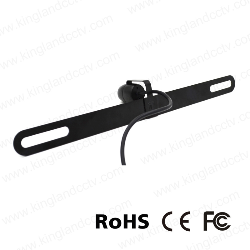 Waterproof Licence Mount Rear View Camera for Car