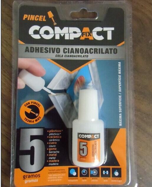 High Strong Super Glue for Plastic Fast Bond 5g Per Bottle