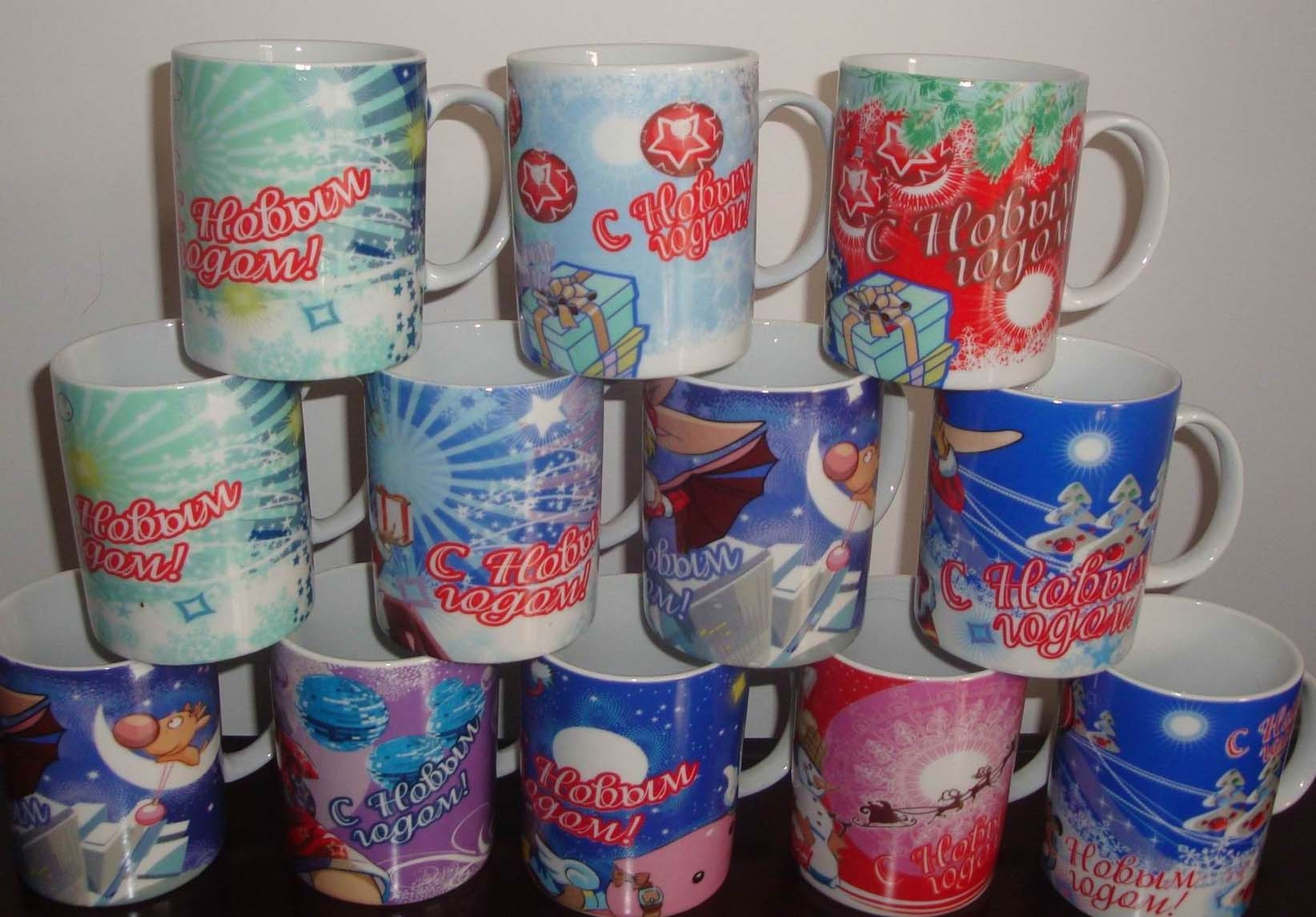 Porcelain 11oc Cartoon Mugs (CT1367)