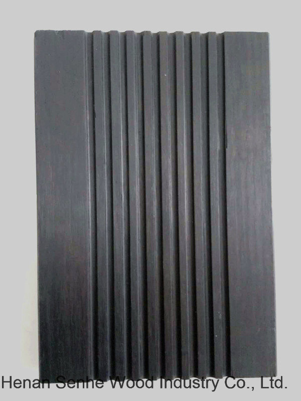 Strand Woven Bamboo Flooring, Outdoor Bamboo Flooring Deep Carbonized 18mm